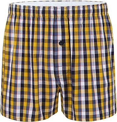 TiaoBug Pantalón Corto Cuadros para Hombres Bermuda Deporte ...