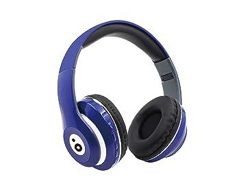 Sunstech REBELBL - Auriculares Bluetooth, Color Azul: Amazon.es: Electrónica
