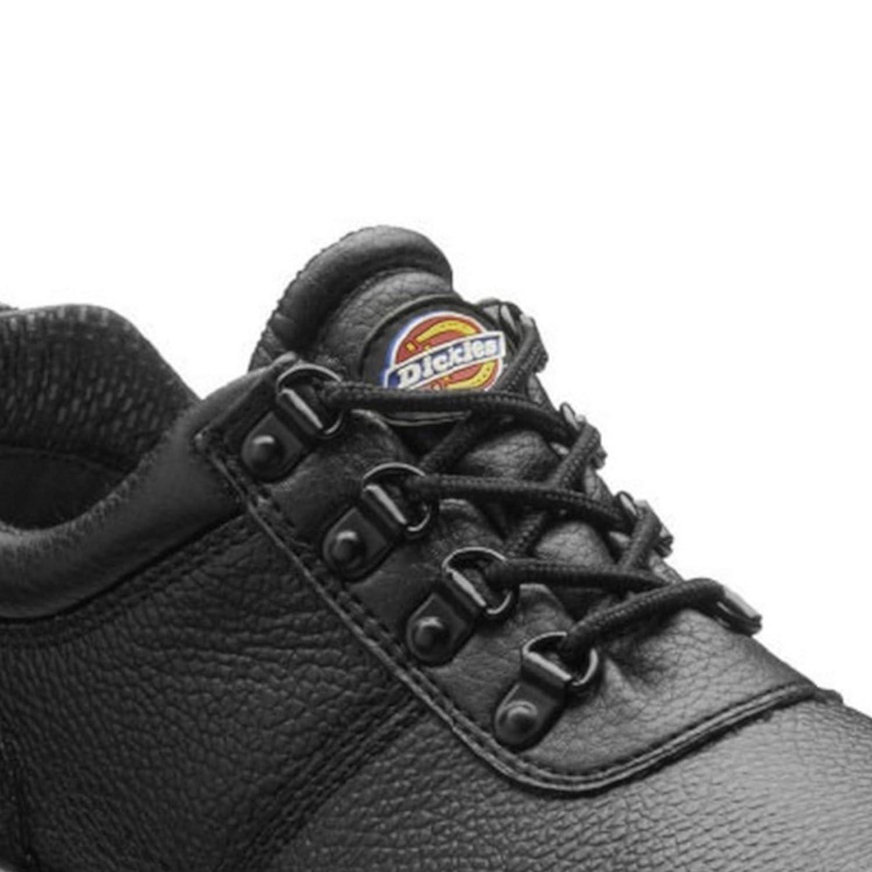 Dickies 46 EU Zapatos de Seguridad Modelo Clifton II para Hombre Negro Jet