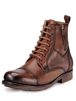 TEAKWOOD Men's Leather Formal Shoe Men's Formal Shoes at amazon