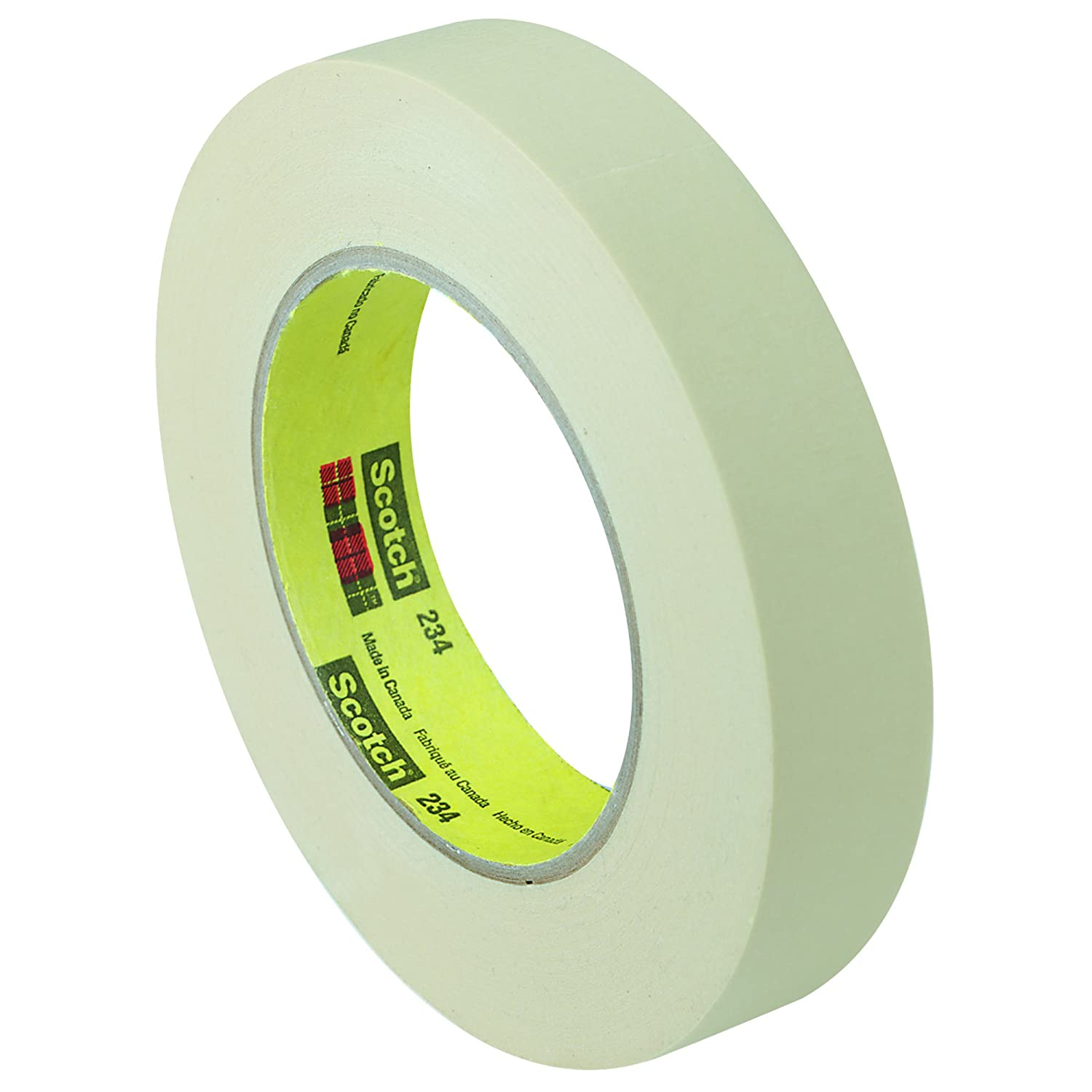 Scotch 23412 General Purpose Masking Tape 234, .47 x 60yds, 3 Core, Natural (MMM23412) by Scotch B009NKS08M