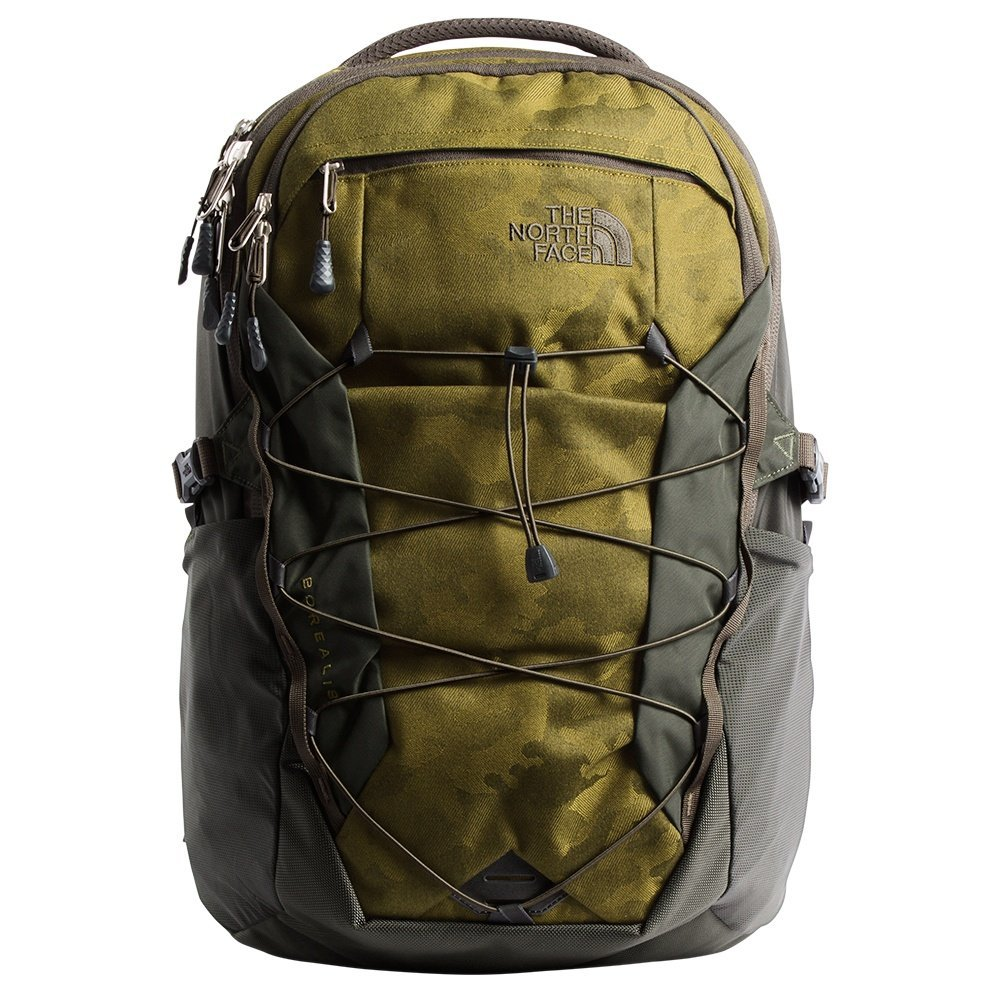 0429578b3c2 Galleon - The North Face Borealis Backpack - Fir Green Camo Print/New Taupe  Green