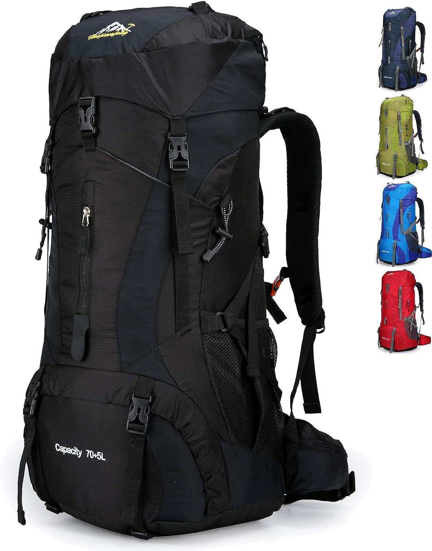 Doshwin Mochila Grande Camping Trekking Senderismo Viaje para Mujer Hombre / 70L