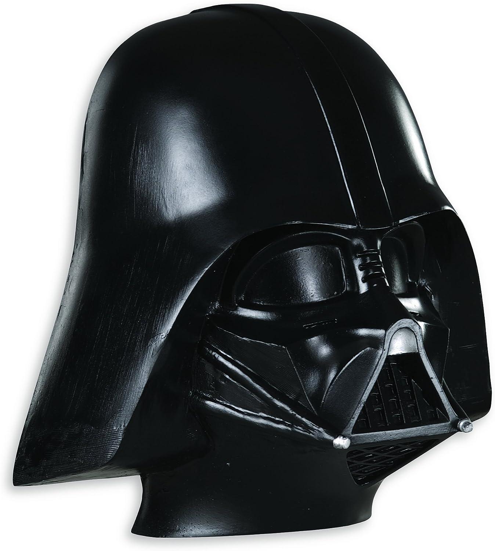 Star Wars - Media máscara de Darth Vader para niños, talla única 4-8 años (Rubie's 3446)