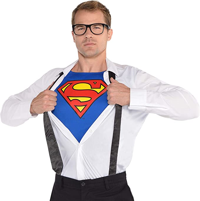 Superman Kostüm Superheld Clark Kent DC Comic Held für