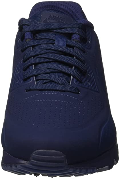 timeless design 6bc55 de65d Nike Nike Air Max 90 Ultra Moire, Menâ€TMs Sneakers, Azul   Blanco (Midnight  Navy   Mid Navy-White), 10 UK  Amazon.co.uk  Shoes   Bags