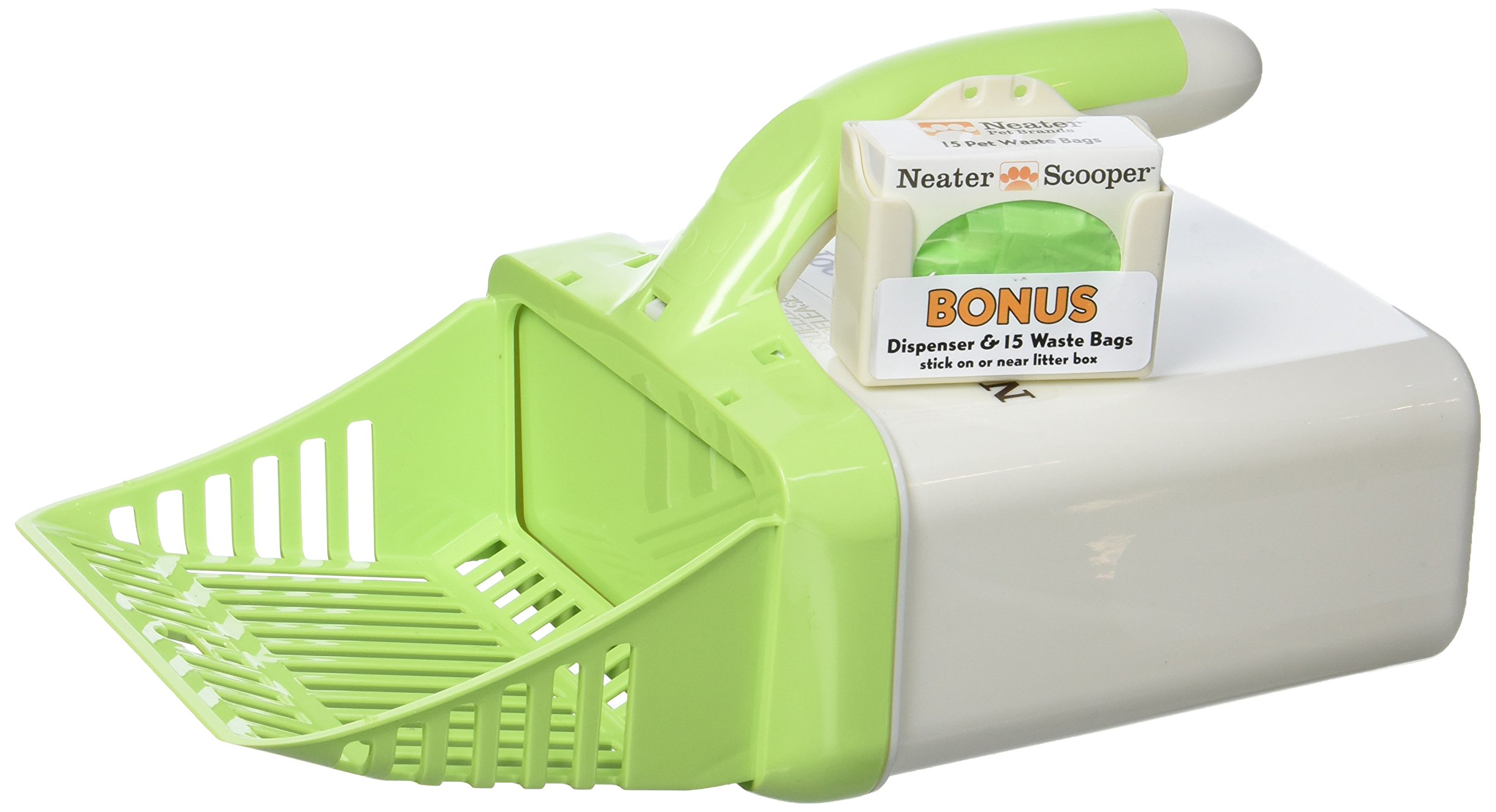 Neater Pet Brands Scooper Cat Litter Scoop Green