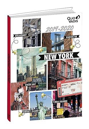 Agenda Escolar 1 Día/Página 2019-2020 Cities, 12x17cm, diseño Nueva York