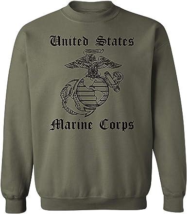 Eagle Globe and Anchor USMC Crew Neck Sweatshirt