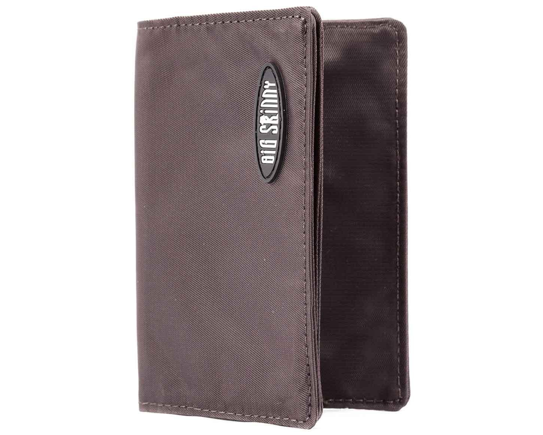 Big Skinny Card Holder Slim Wallet, Holds Up to 25 Cards Brown CHBRN1250