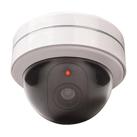 Xavax 00111992 Blanco Almohadilla cámara de seguridad ficticia - Cámaras de seguridad ficticias (Almohadilla,