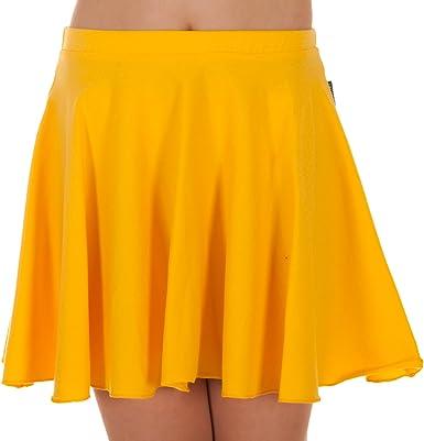 Jandaz 96% falda de ballet de algodón para niña: Amazon.es: Ropa y accesorios