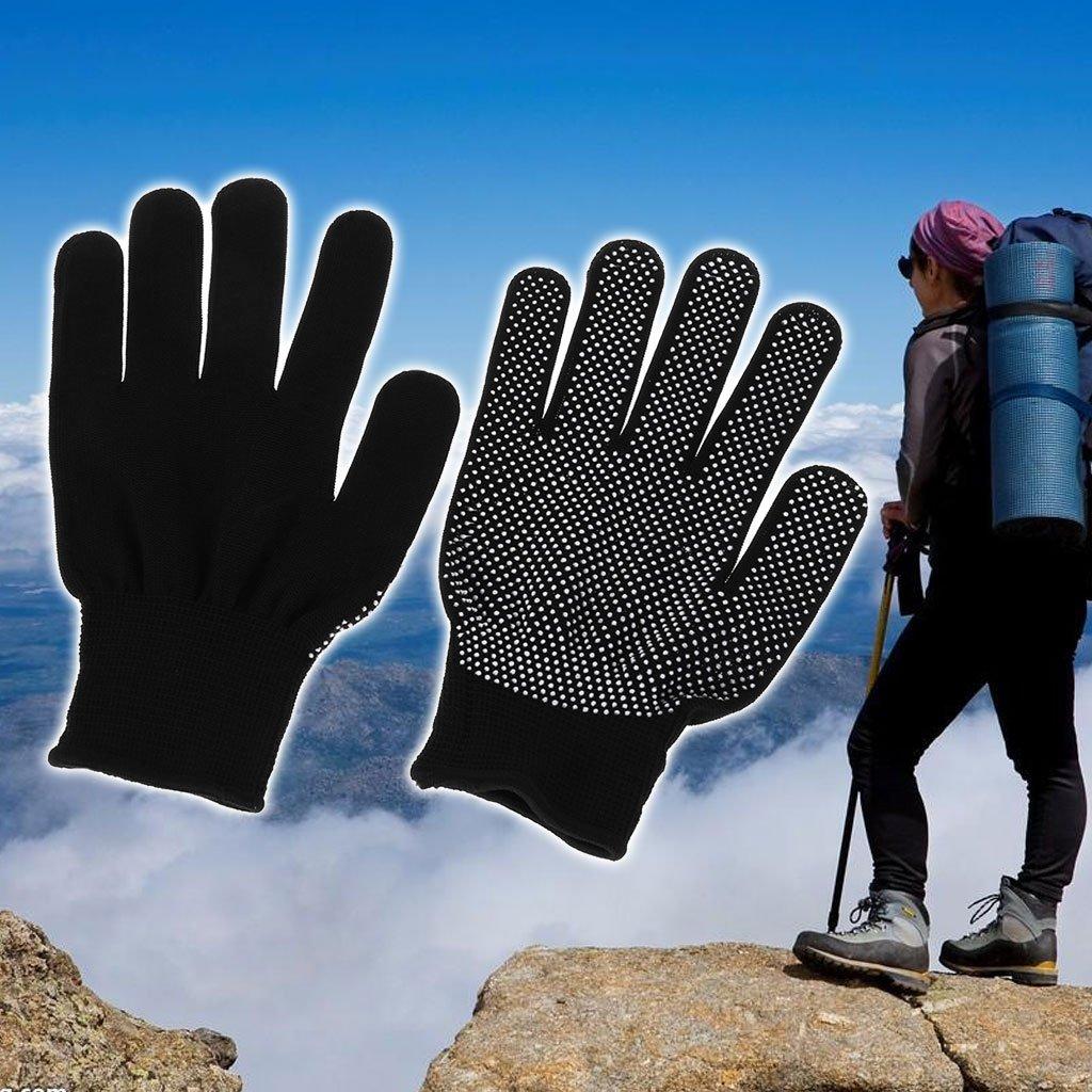 ruiruiNIE Guantes Antideslizantes de Nylon Herramienta de protecci/ón de la Palma de la espinilla Ciclismo Escalada Bicicleta para Montar