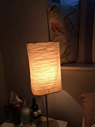 Ikea magnarp table lamp with 2 free bulbs paper lantern for Magnarp table lamp youtube