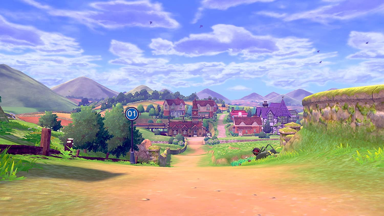 Amazon Com Pokemon Shield Nintendo Switch Nintendo Of America