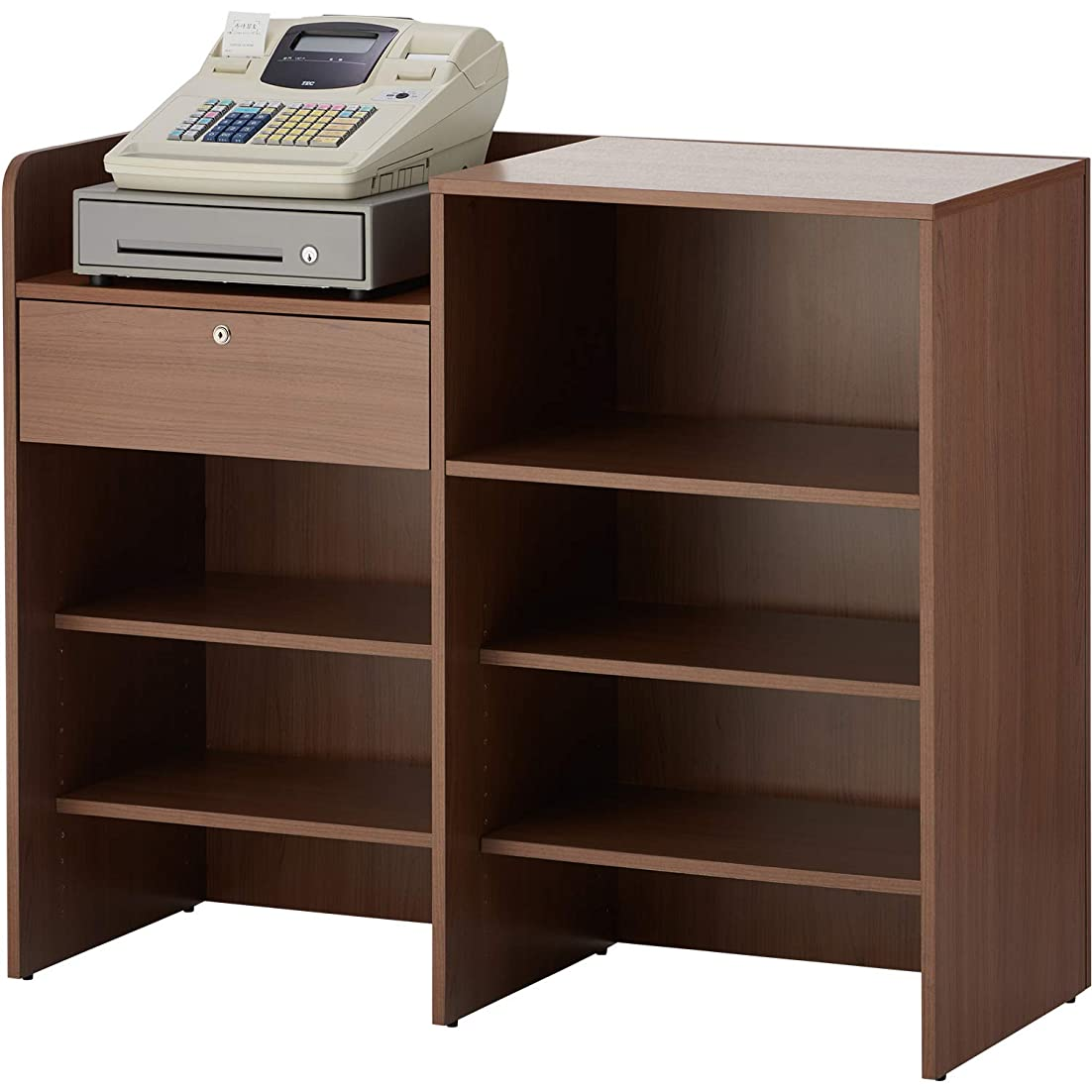 シャイニング後電化するハイカウンター 棚板W1200用 RFHC-1200-OPT ウォールナット