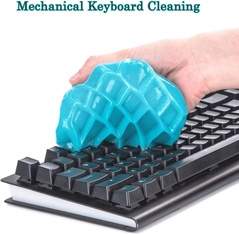 1 St/ück Tastatur-Staubreiniger f/ür Laptops Autos Dynamite Reinigungsgel f/ür Computertastaturen Taschenrechner Tastaturreiniger weiche Flexible Reinigung. Drucker