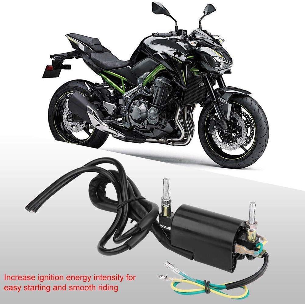 Hi Perf Ignition Coil Set 12 Volt 12V For Kawasaki KZ Suzuki GS Honda CB 650 750 900