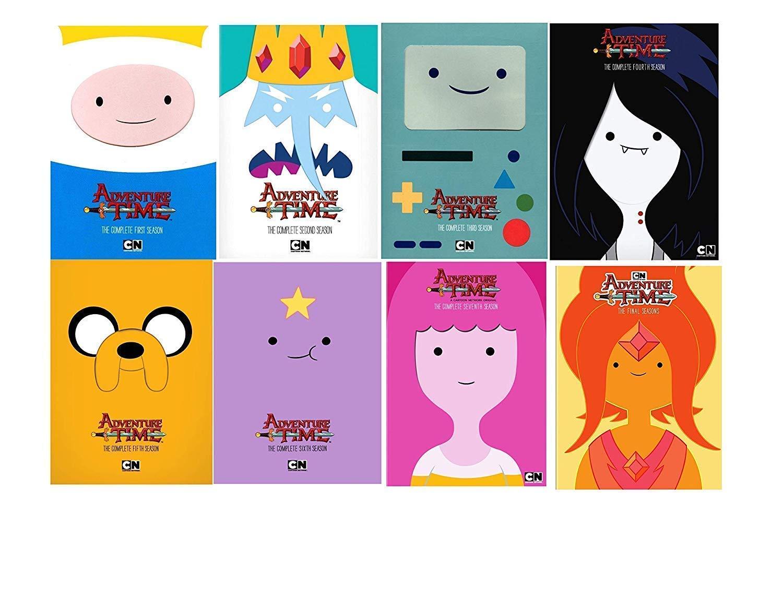 Cartoon Network: Adventure Time: The Complete Series Seasons 1-8 DVD