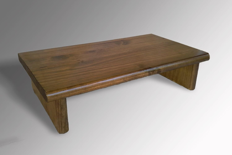 モニタスタンドpstsw20 – 4 Pine特別なウォールナット20 x 11.5 X 4.88テレビ木製シェルフライザー家具デスクAssembled新しい   B012UODSXY