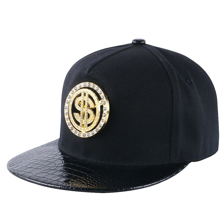 Amazon.com: Donna Pierce women men snapback cap custom design metal luxury hip hop baseball cap boy girl sports casquette hat gorras 3: Health & Personal ...