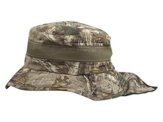 0ea33a86b21 Stetson Men s Realtree Xtra No Fly Zone Insect Repellent Camo Boonie Hat  Sz  XL
