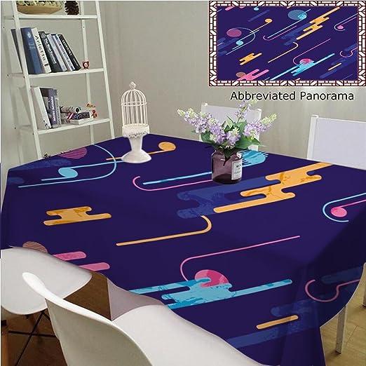 Manteles individuales de algodón y lino con interior abstracto ...