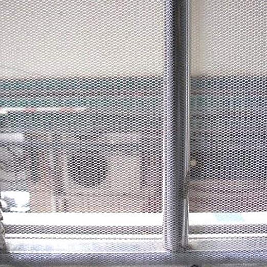 gancho y desmontaje antimosquitos Mosquitera mosquitera magn/ética para ventana autoadhesiva cortina de malla