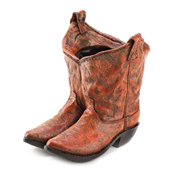 Amazon.com : Classic Cowboy Boots Planter : Patio, Lawn & Garden