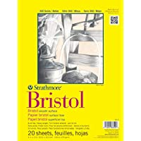 (23cm by 30cm ) - Strathmore STR-342-9 20 Sheet Smooth Bristol Pad, 23cm by 30cm