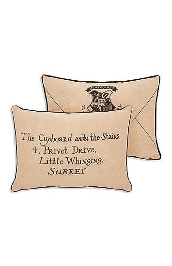 Cojín en forma de carta de Harry Potter, dirección de ...