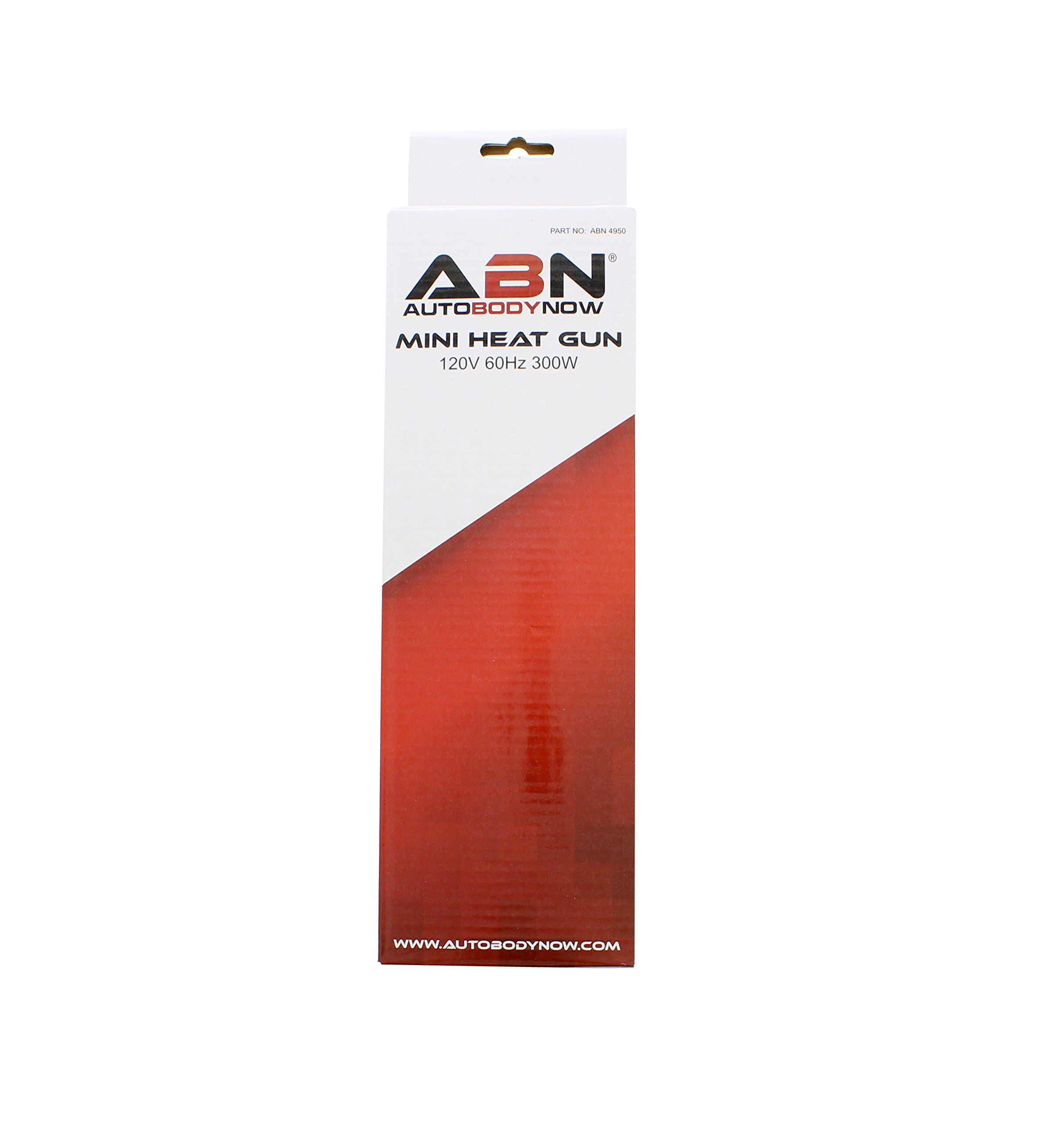 ABN Mini Heat Gun - Great for Heat Shrink Tubings and Drying - 120V, 60Hz, 300W by ABN (Image #6)