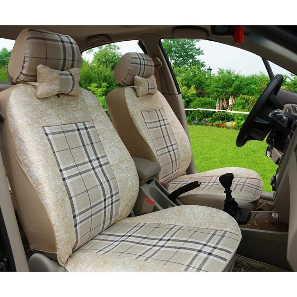 カーカーシートプロテクター用シートカバー 車のステアリングホイールプロテクターショートぬいぐるみレザーステアリングホイールカバーユニバーサル14-1 / 215-1 / 8インチ カーシートクッションカーシートマット   B07PDKSZNP