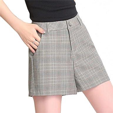 Para Verano Cortos Pantalones Cintura Mujer De Shizheshop Alta 9IWH2DYE