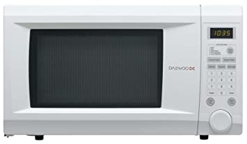 Daewoo KOR1NOA Family Size Touch Control Solo Microwave Oven, 31 ...
