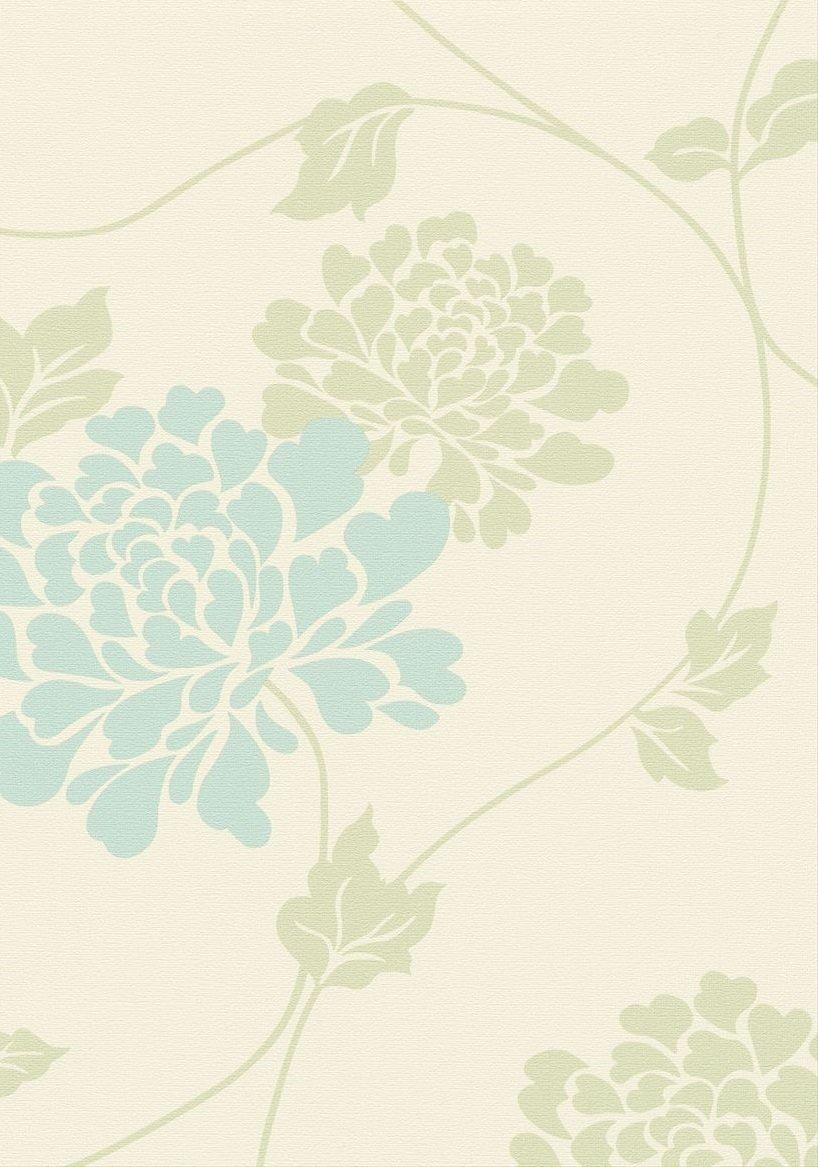 Amazon シンコール 壁紙1m ローラアシュレイ クリーム Bl8920 壁紙