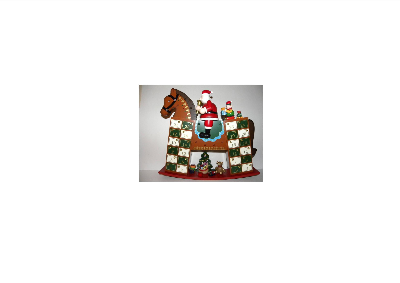 Advent Calendar Wooden Rocking Horse by Advent Calendar