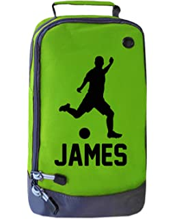 Sports clubs School PE kit. Personalised lacrosse boot bag for kids children