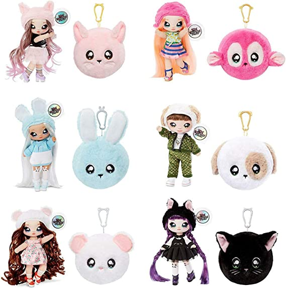 NA NA NA SURPRISE SERIES 2 POUPEE peluche ASPEN FLUFF MISHA MOUSE LOL SURPRISE