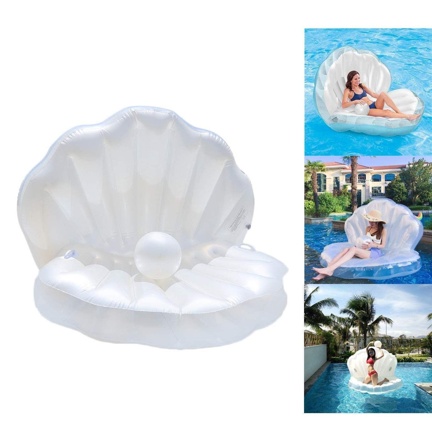 Amazon.com : MQW Swimming Pool Float, Inflatable Swimming ...