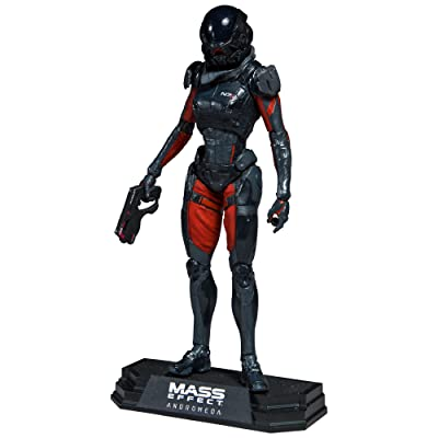 McFarlane Toys Mass Effect Andromeda Sara Ryder Collectible Action Figure: Toys & Games