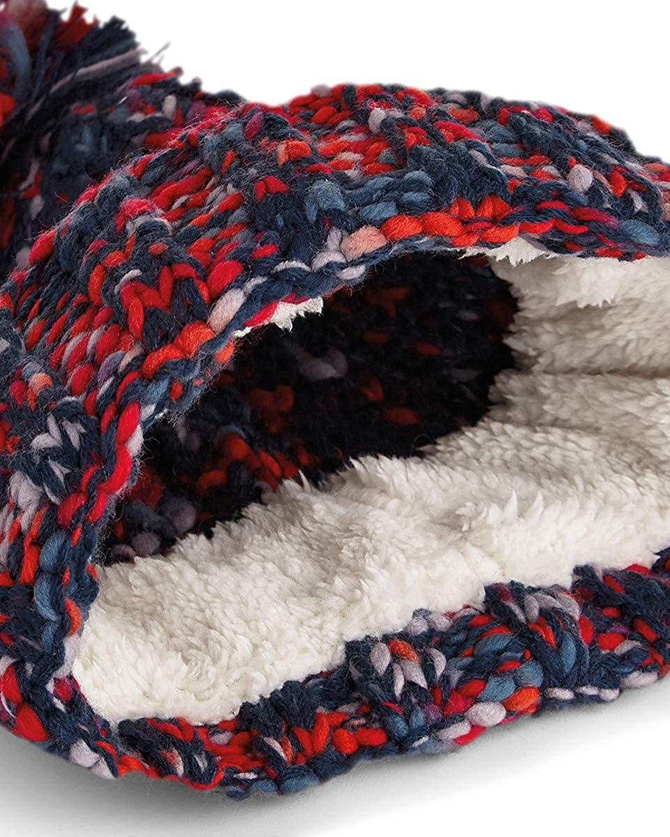 8189b1e50 Twister Pom Pom Beanie (O/S, Campfire Twist): Amazon.co.uk: Clothing