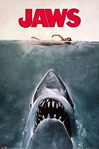 "Jaws - Movie Poster (Regular Style/Key Art) (Size: 24"" x 36"")"