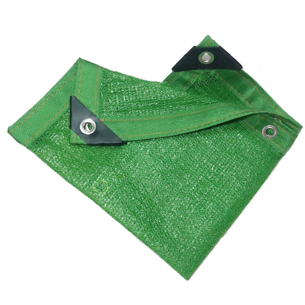 Dbtxwd Rete Resistente Ai Raggi UV del Tessuto Dell'ombra del Reticolato Dell'ombra del Reticolato del Sole per La Piscina del Carport del Giardino del Fiore Carport, verde,4M5M