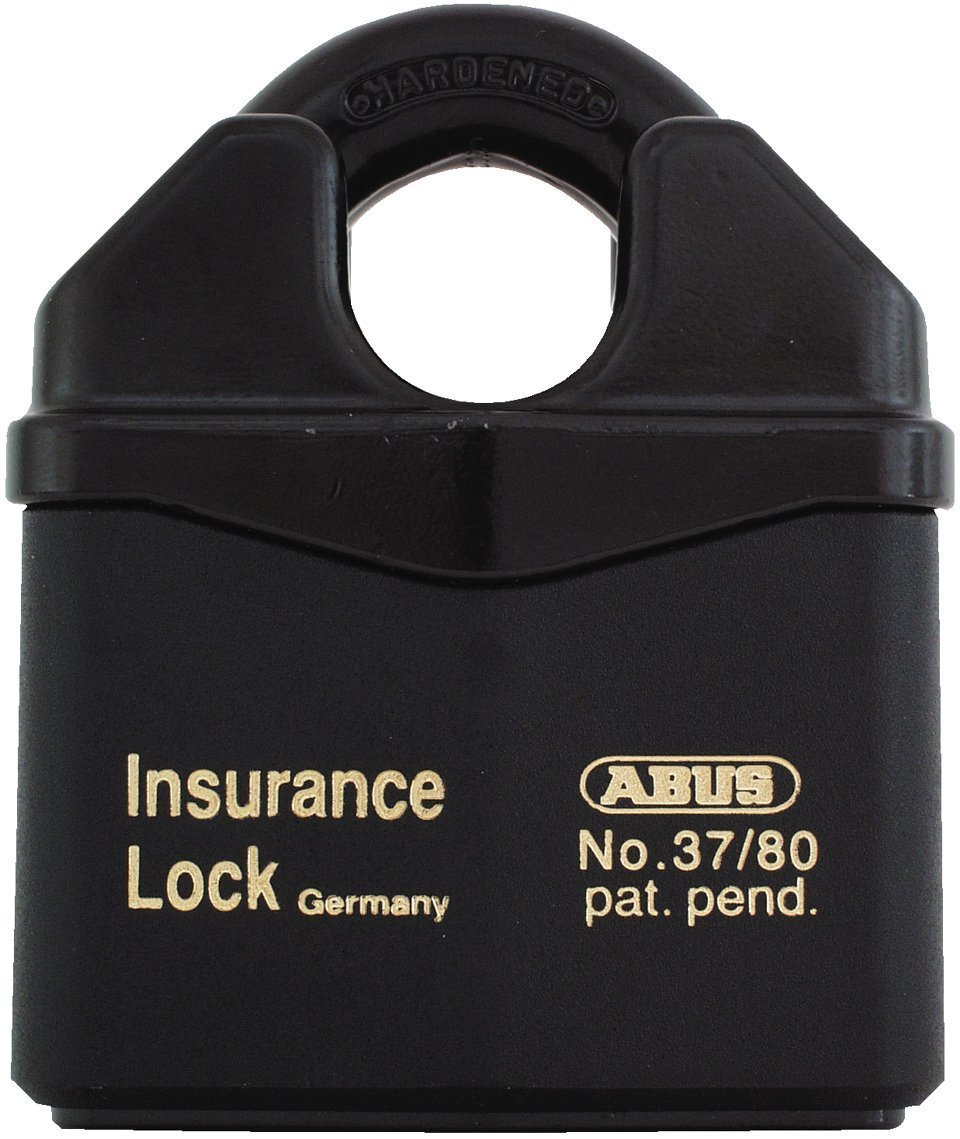 ABUS 37RK/80 KD Granit Extreme Security Steel Rekeyable Keyed Different Padlock