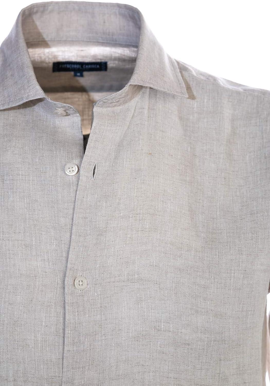 Frescobol Carioca - Camisa de lino en color arena - Beige ...