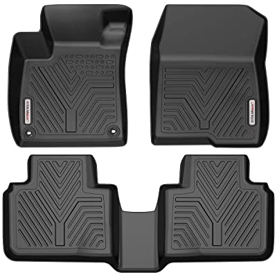 YITAMOTOR Floor Mats Compatible with Honda Accord, Custom Fit Floor Liners for 2020-2020 Honda Accord, 1st & 2nd Row All Weather Protection: Automotive