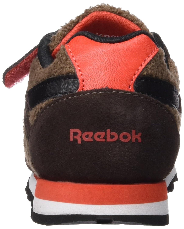 Reebok JB Baloo Runner, Zapatos de Primeros Pasos Unisex Bebé, Marrón/Beige/Blanco/Rojo (Earth/Dark Brown/Khaki/Black/Laser Red), 26