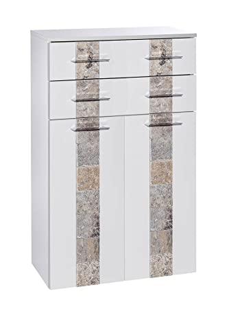 Lifestyle4living Highboard Kommode Sideboard Midischrank