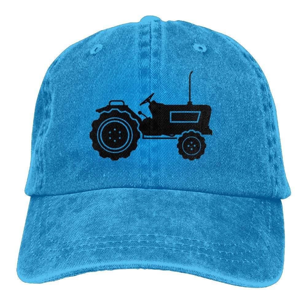 Bikofhd Cappello da Motociclista Nero Trattore Regolabile Unisex Cappello da Baseball Lavato Unisex22